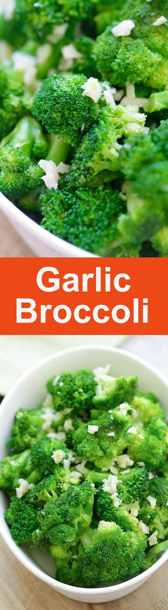 Garlic Broccoli – healthy sauteed broccoli with garlic, butter and lemon. This garlic broccoli recipe is so easy and takes 10 mins | rasamalaysia.com