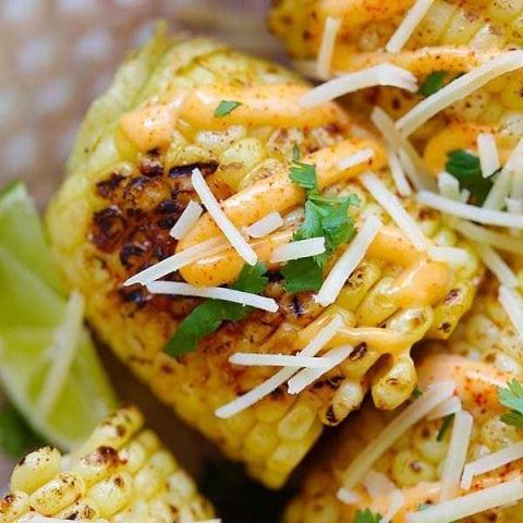 Mexi-Cali Street Corn