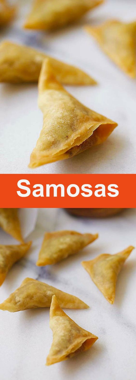 Easy samosa recipe rasa malaysia easy samosa forumfinder Image collections