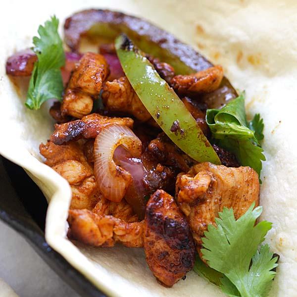 Sizzling Chicken Fajita
