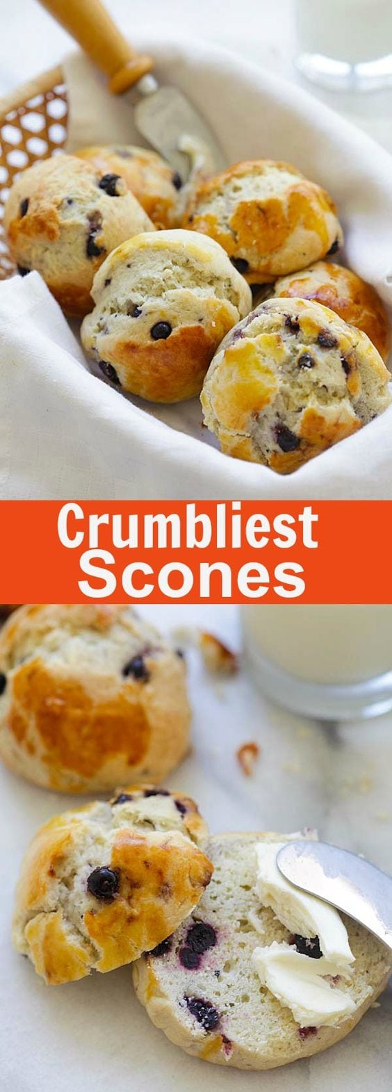 Crumbliest Scones – crumbly and delicious homemade scones recipe by Jamie Oliver. Afternoon tea has never tasted so good   rasamalaysia.com