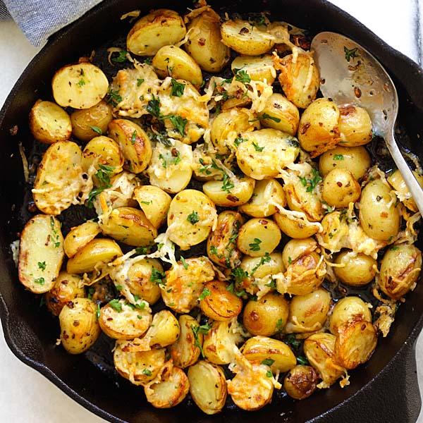 Italian Roasted Potatoes Rasa Malaysia