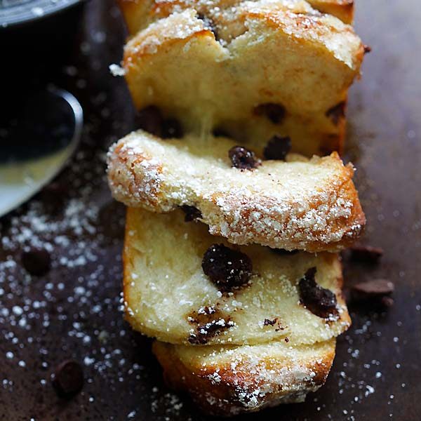 Chocolate-Cinnamon Pull-Apart Bread