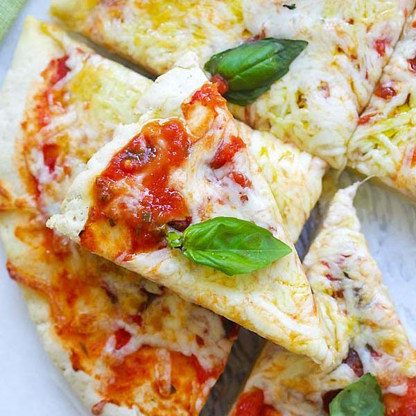Gluten-Free Pizza Margherita