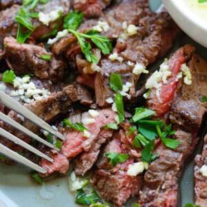 Garlic Butter Brazilian Steak