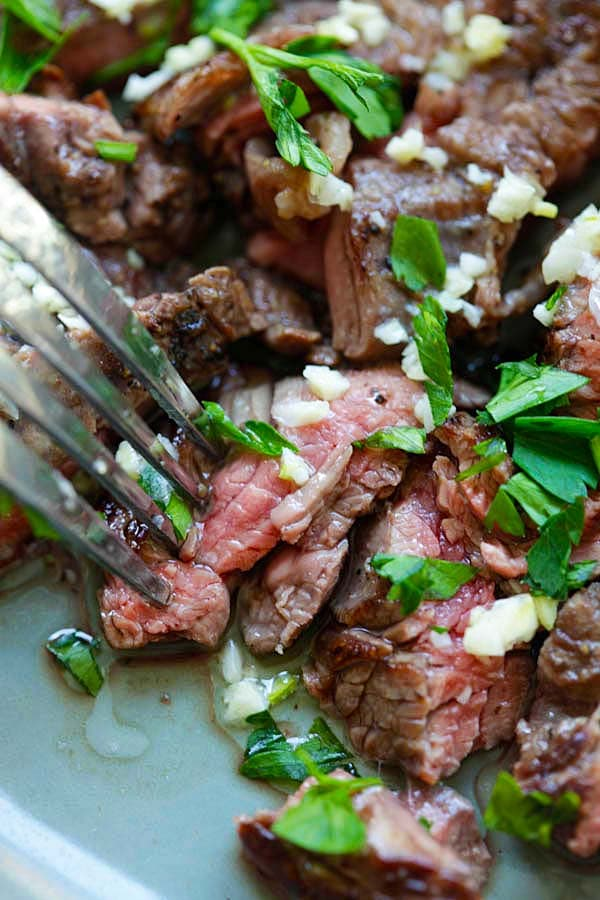 ... butter steak brazilian skirt steak with golden garlic butter recipes