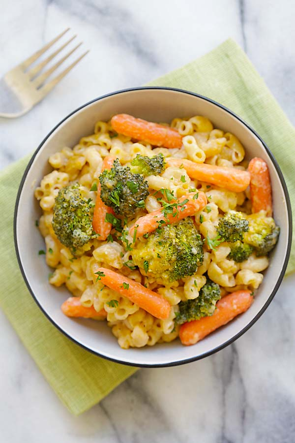 Mac And Cheese With Carrots Recipe — Dishmaps
