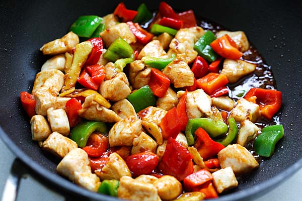 Spicy Teriyaki Chicken Stir-Fry