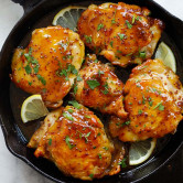 Spicy Honey-glazed Chicken