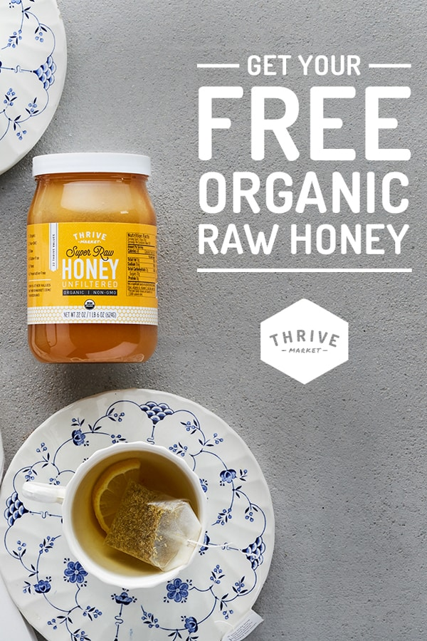 Thrive Market Super Raw Honey Giveaway