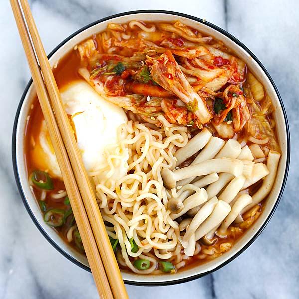 Kimchi Ramen Rasa Malaysia