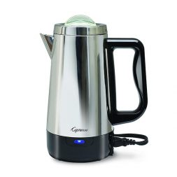 Capresso 8 Cup Perk Stainless Steel Percolator Giveaway (CLOSED)