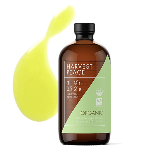 Harvest Peace Organic Extra Virgin Olive Oil Giveaway