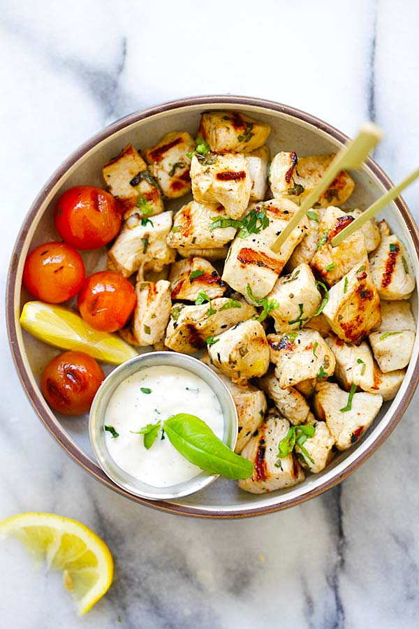Mediterranean Chicken Bites | Easy Delicious Recipes