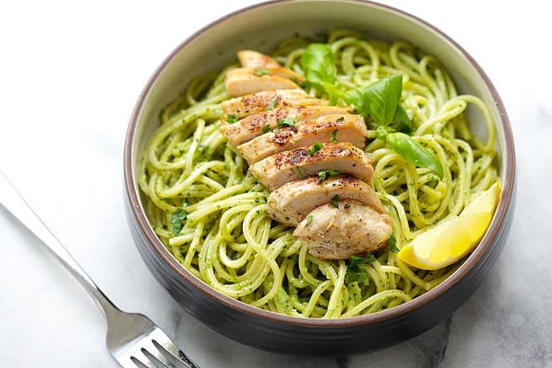 Pesto Pasta with Chicken