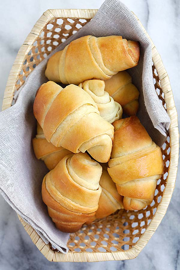 Easiest and the best homemade potato rolls recipe inspired by Sweet Basil's cookbook.