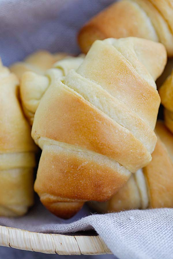 Easy Potato Rolls - the best, softest, pillowy homemade potato rolls recipe ever! From Oh Sweet Basil's cookbook. Fail proof and SO GOOD   rasamalaysia.com