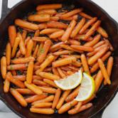 Brown sugar roasted carrots