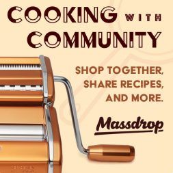 Cooking with Community (Massdrop)