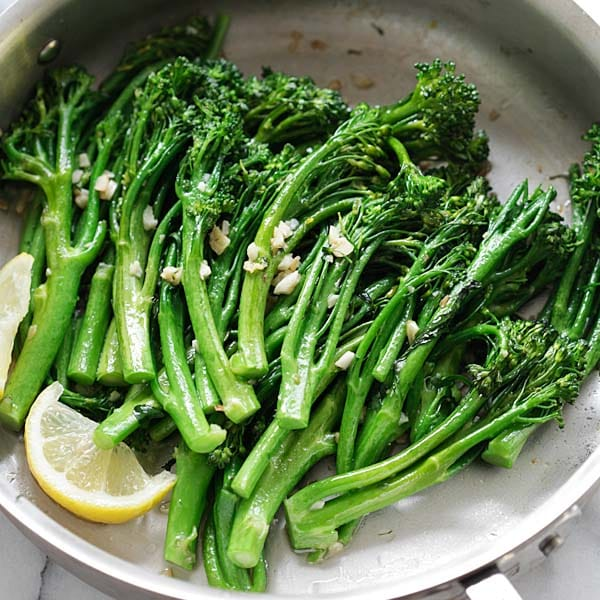 Garlic Butter Sauteed Broccolini