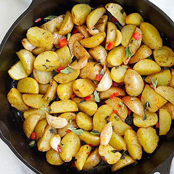 Greek Roasted Potatoes