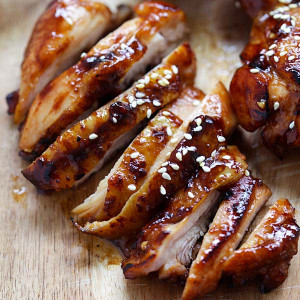hoisin sriracha chicken