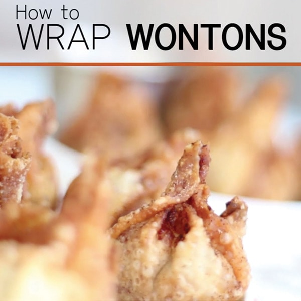 How to Wrap Wontons