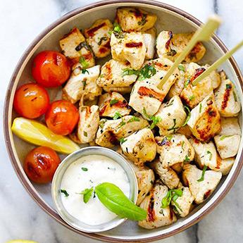 Mediterranean Chicken Bites