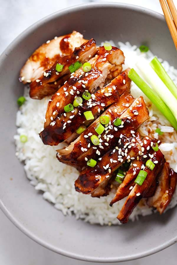Easiest and best soy-glazed chicken recipe.