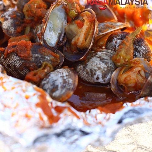 Malayasian-style BBQ Seafood