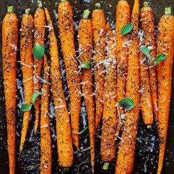 Italian Roasted Carrots