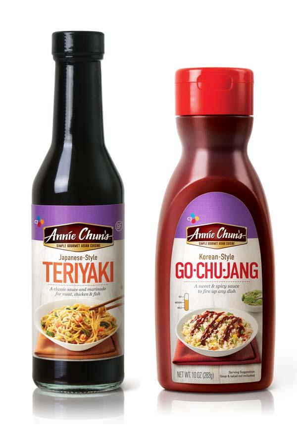 Annie Chun's Gluten Free Teriyaki Sauce & Go Chu Jang