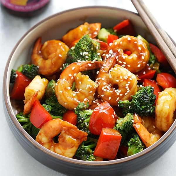 how to cook shrimp lo mein