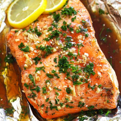 Soy Honey Butter Salmon