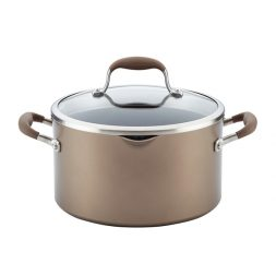 Anolon® Advanced Bronze 6-Quart Covered Stockpot Giveaway (CLOSED)