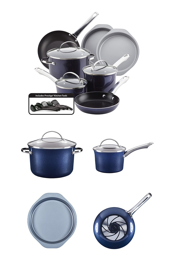 Farberware® Luminescence 16 Piece Set in Sapphire Shimmer Giveaway