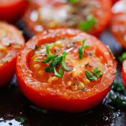 herb roasted tomatoes