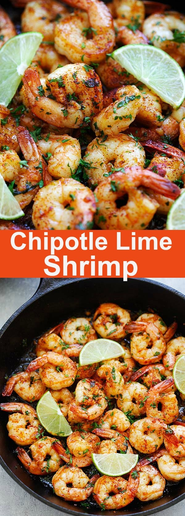 Chipotle Lime Shrimp | Easy Delicious Recipes