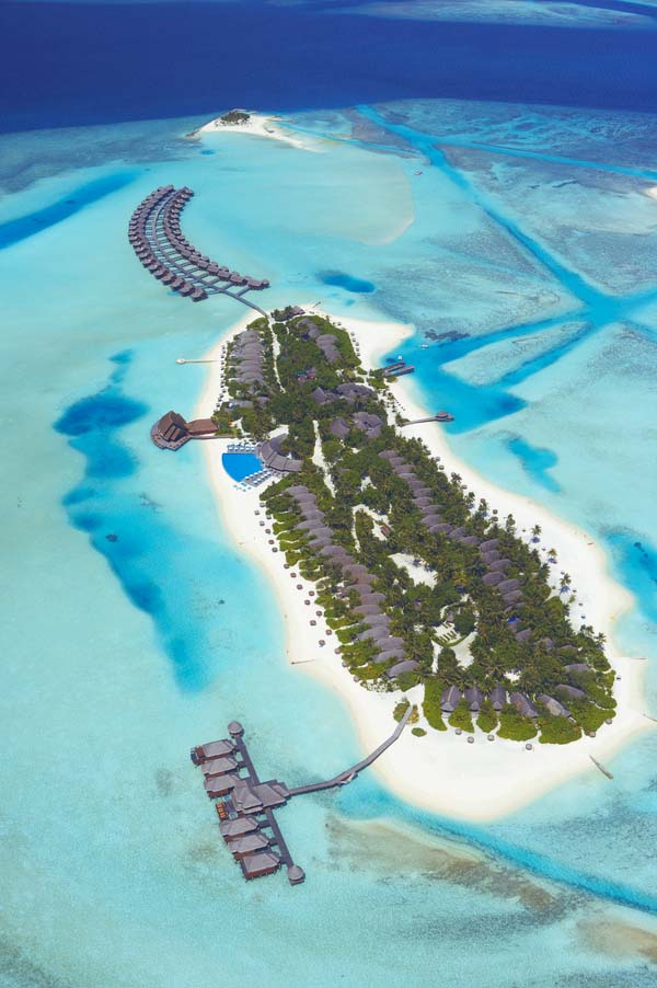 Anantara Dhigu Resort and Spa Maldives.