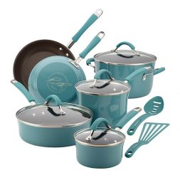 Rachael Ray™ Porcelain Enamel Nonstick Cookware 12-Piece Set Giveaway (CLOSED)
