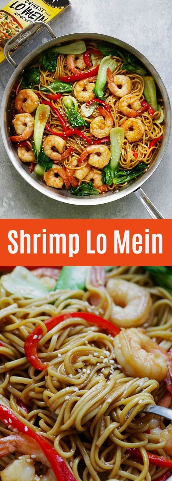 Shrimp Lo Mein Easy Delicious Recipes