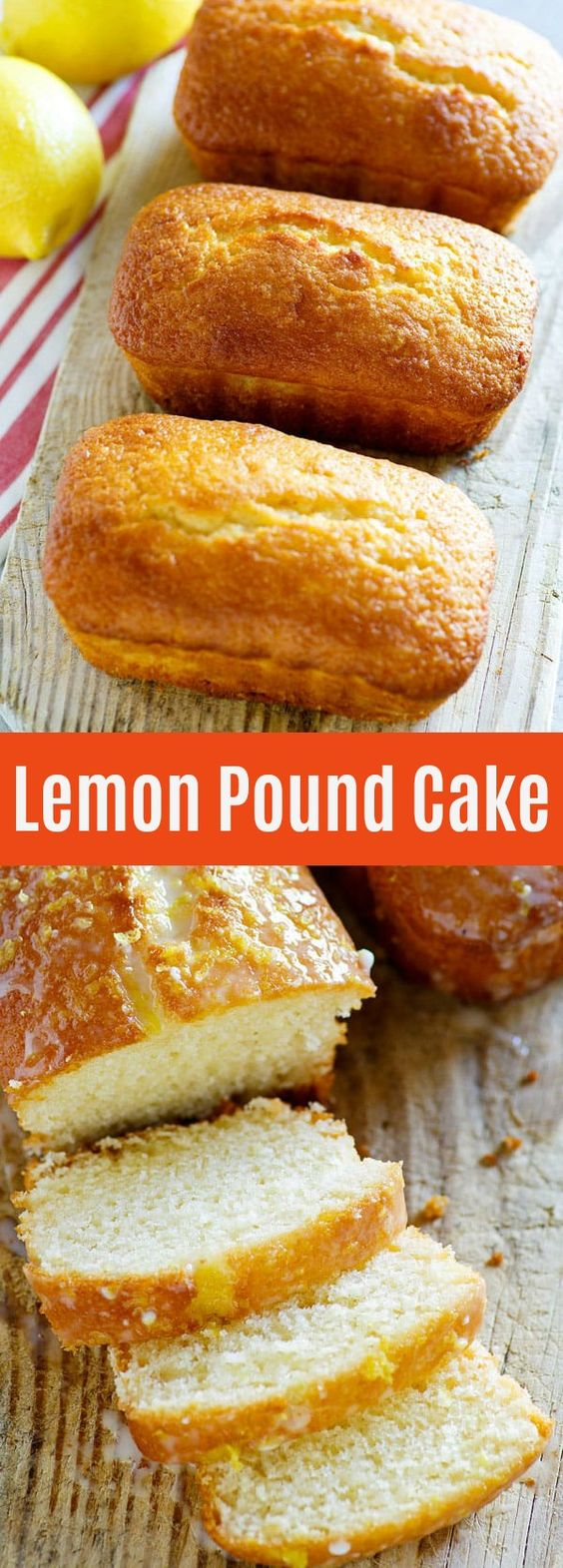 Lemon Pound Cake - buttery, sweet and lemony pound cake with sugary glaze. This lemon pound cake recipe is so good you'll want it every day | rasamalaysia.com