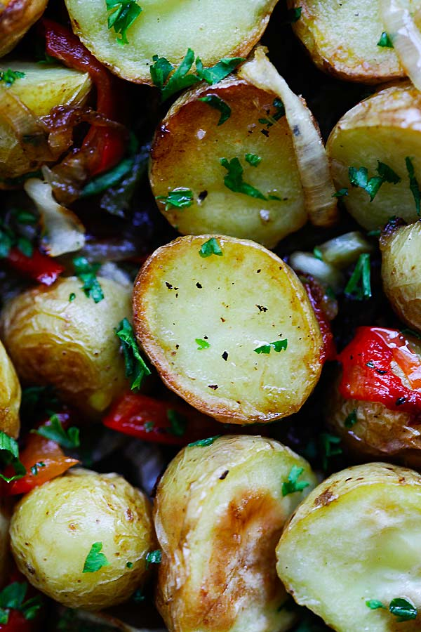This French-style roasted potatoes is delicious and a perfect side dish.