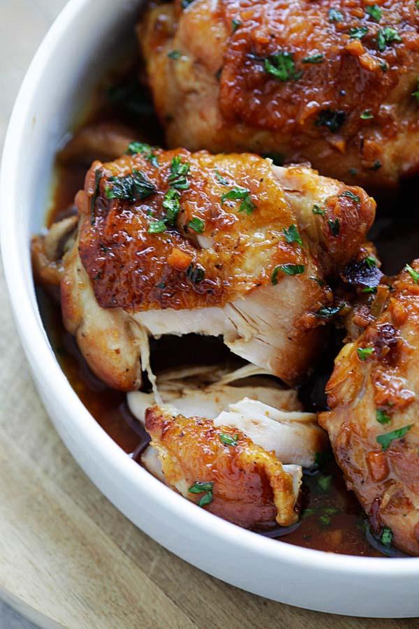 Honey Garlic Chicken Instant Pot Easy Delicious Recipes