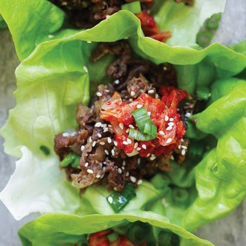 Bulgogi Lettuce Wraps Recipe