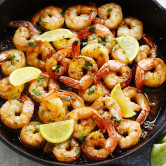 brown butter lemon garlic shrimp