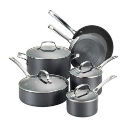 Circulon® Genesis Hard-Anodized Nonstick 10-Piece Cookware Set Giveaway