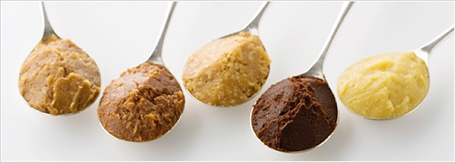 Different type of miso.