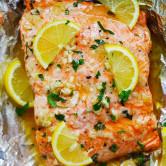 Honey Garlic Butter Salmon