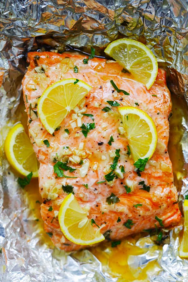 Honey Garlic Butter Salmon Easy Delicious Recipes